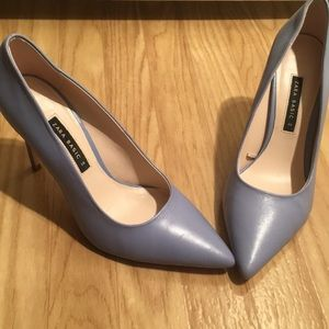 Zara lilac shoes size 8/39